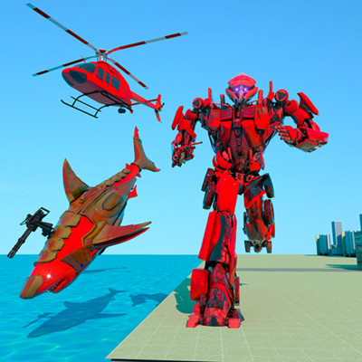 大鲨鱼机器人模拟器v1.0 安卓版