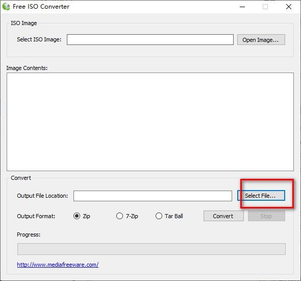 Free ISO Converter(ISO文件转换器)v1.0 绿色版