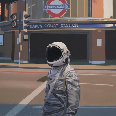 最新版热门的宇航员系列的头像 要及时清醒也要事事甘心