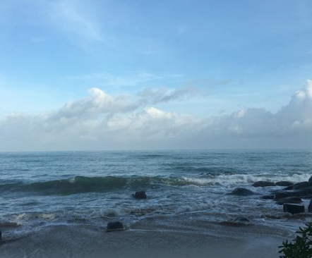 一个人在海边的心情说说大全-云奇网