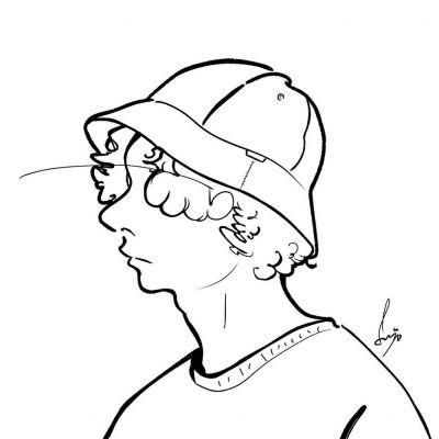 2021男生个性手绘简笔画头像合集大全-云奇网