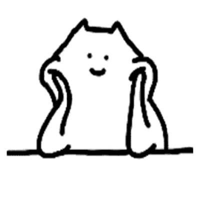 手绘简短又很有趣的可爱表情大全-云奇网