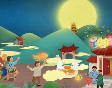 中秋节祝福语给客户好听大全-云奇网