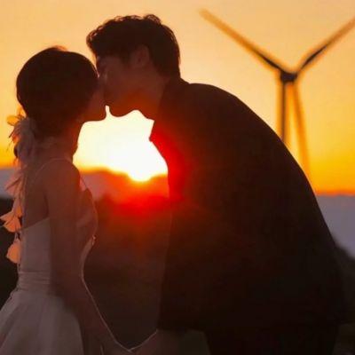 日落很浪漫的精致情侣头像合集大全