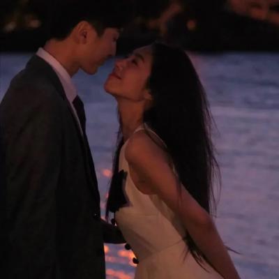 日落很浪漫的精致情侣头像合集大全-云奇网