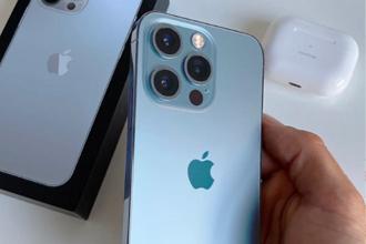苹果13蓝色多少钱?苹果13蓝色和12蓝色一样吗?
