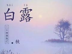 2021二十四节气白露经典祝福语 白露节气的早安经典文案